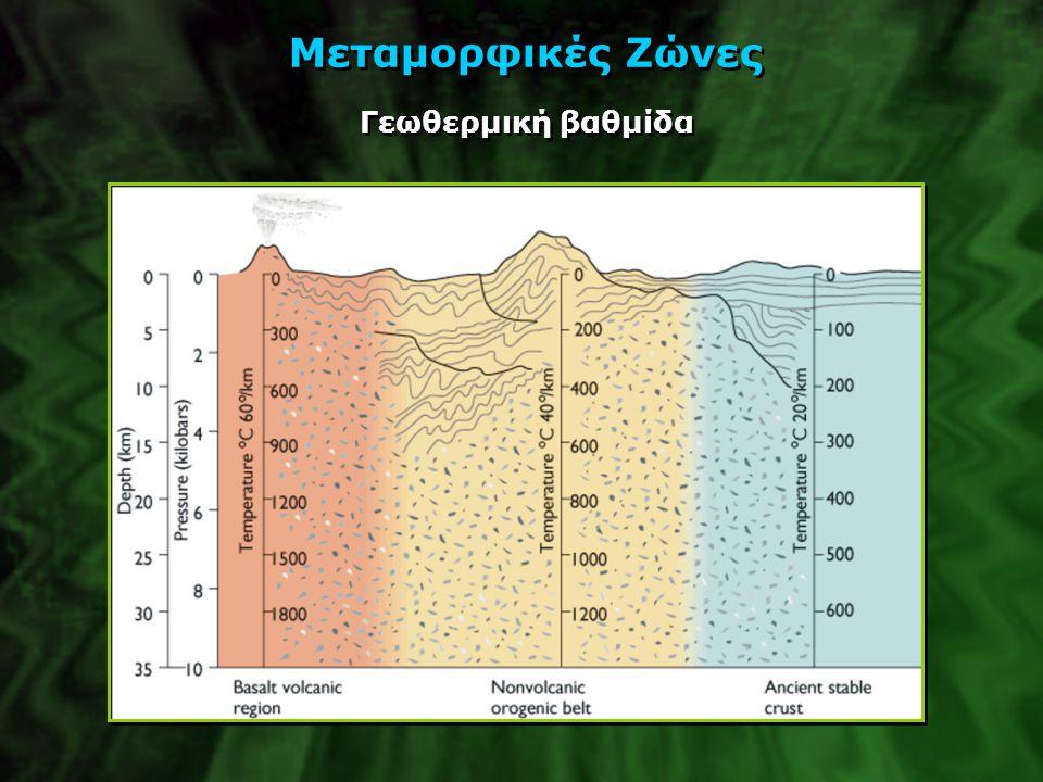 Μεταμορφικές Ζώνες Γεωθερμική βαθμίδα