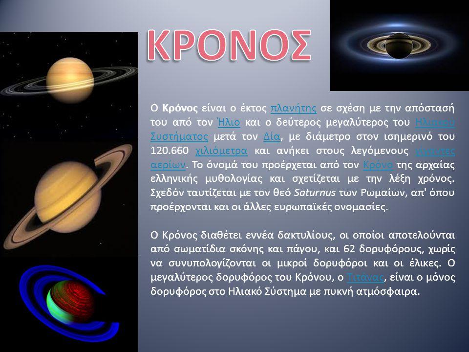 Ο Δίας είναι ένας γίγαντας αερίων.Είναι ο μεγαλύτερος πλανήτης του ηλιακού συστήματος.