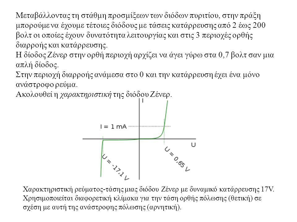 ΑΞΙΟΛΟΓΗΣΗ 1.Να αναφέρετε μερικές χρήσεις των φωτοδιόδων.