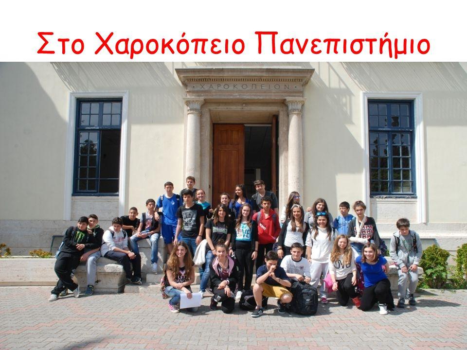 Στο Χαροκόπειο Πανεπιστήμιο