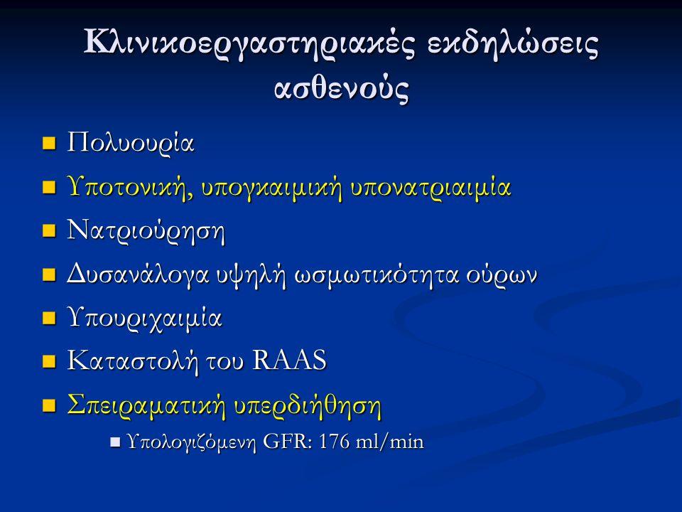 Αίτια σπειραματικής υπερδιήθησης Διαβητική νεφροπάθεια (πρώιμα) Διαβητική νεφροπάθεια (πρώιμα) Υπερογκαιμία Υπερογκαιμία Αρτηριακή υπέρταση Αρτηριακή υπέρταση Μεγαλακρία Μεγαλακρία Κύηση Κύηση Μονόνεφρος Μονόνεφρος Υπερέκκριση νατριουρητικών πεπτιδίων Υπερέκκριση νατριουρητικών πεπτιδίων