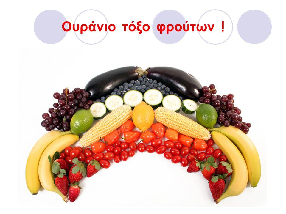 Ουράνιο τόξο φρούτων !