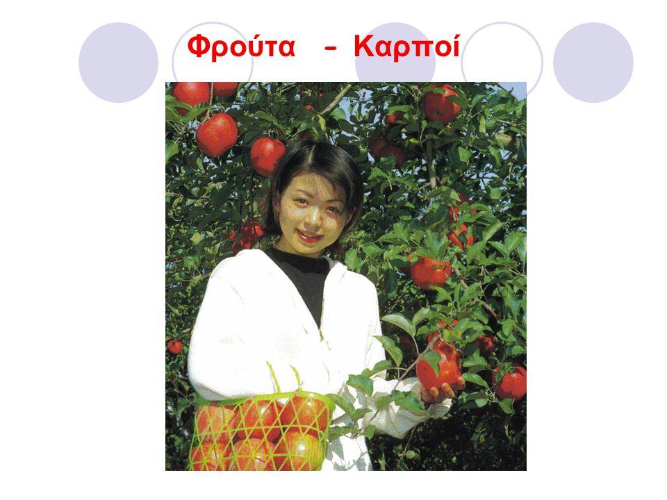 Φρούτα - Καρποί
