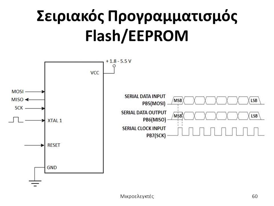 Σειριακός Προγραμματισμός Flash/EEPROM Μικροελεγκτές60