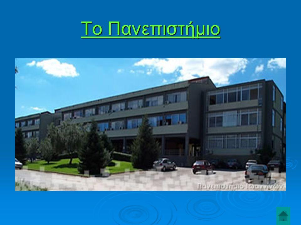 Το Πανεπιστήμιο