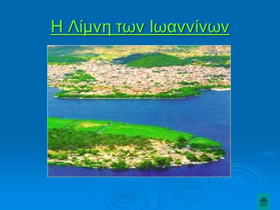  Η λίμνη των Ιωαννίνων ή Παμβώτιδα λίμνη είναι αναμφισβήτητα το πιο σημαντικό χαρακτηριστικό της πόλης των Ιωαννίνων.