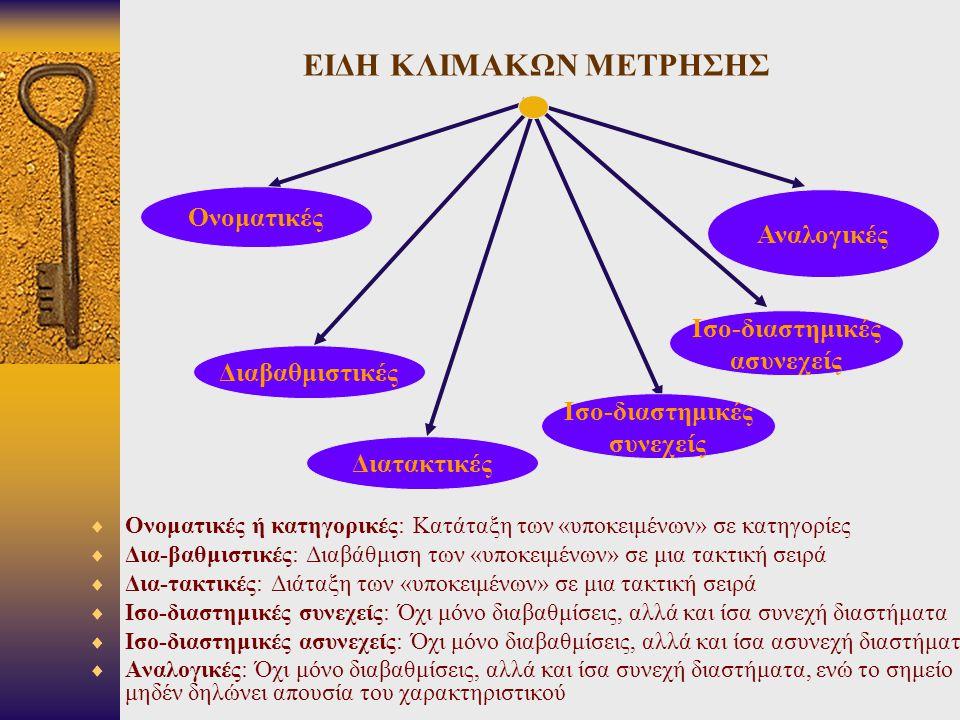 ΜΗ ΠΑΡΑΜΕΤΡΙΚΟ ΚΡΙΤΗΡΙΟ Χ 2  4ο Παράδειγμα  Μέθοδος υπολογισμού