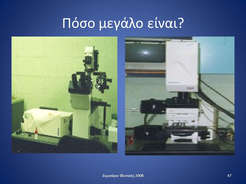 Πόσο μεγάλο είναι? 47Σεμινάριο Φυσικής 2008