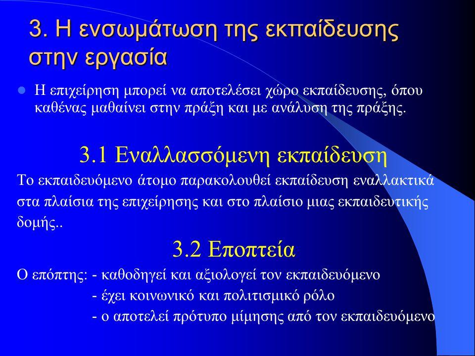 2.4 Τα πέντε εμπόδια στην αλλαγή 1. Η συναισθηματική κατάσταση των ατόμων 2. Το επίπεδο πληροφόρησης 3. Ο βαθμός κινητικότητας 4. Η ανεπάρκεια λύσεων