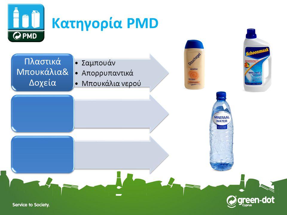Σαμπουάν Απορρυπαντικά Μπουκάλια νερού Πλαστικά Μπουκάλια& Δοχεία Κατηγορία PMD
