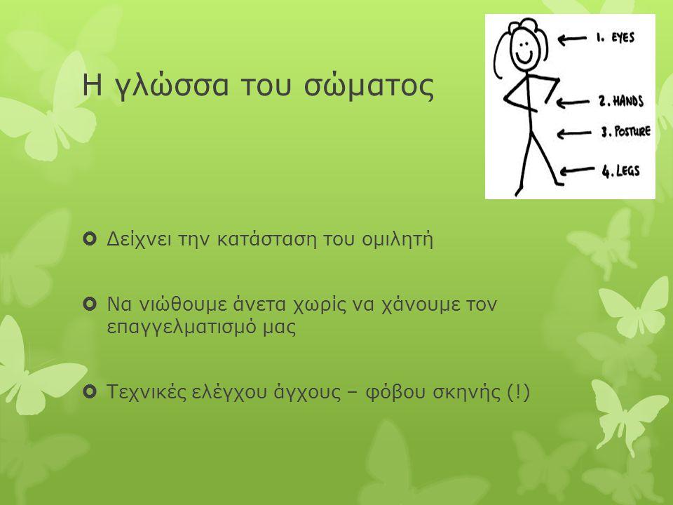  Μπορείτε να σχηματίστε τυχαίες ομάδες 3-4 ατόμων  Σύντομη συζήτηση (5') σε ένα από τα ακόλουθα:  Πώς να περάσετε ένα διήμερο στην Αθήνα  Καλή υγεία – 4 τρόποι για να την πετύχουμε  Όταν κερδίσω το Λόττο  Οποιοδήποτε άλλο θέμα δικής σας επιλογής  Χρονομετρημένη ομαδική παρουσίαση (30'' για κάθε άτομο)