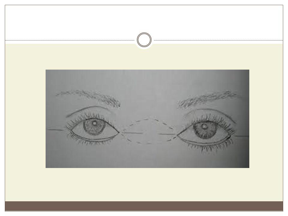 ΤΥΠΟΙ ΜΑΤΙΩΝ Εντάσσοντας τα μάτια μέσα σε κατηγορίες, μπορούν να μακιγιαριστούν εφαρμόζοντας κάποιες βασικές αρχές, που ισχύουν για κάθε κατηγορία ξεχωριστά.