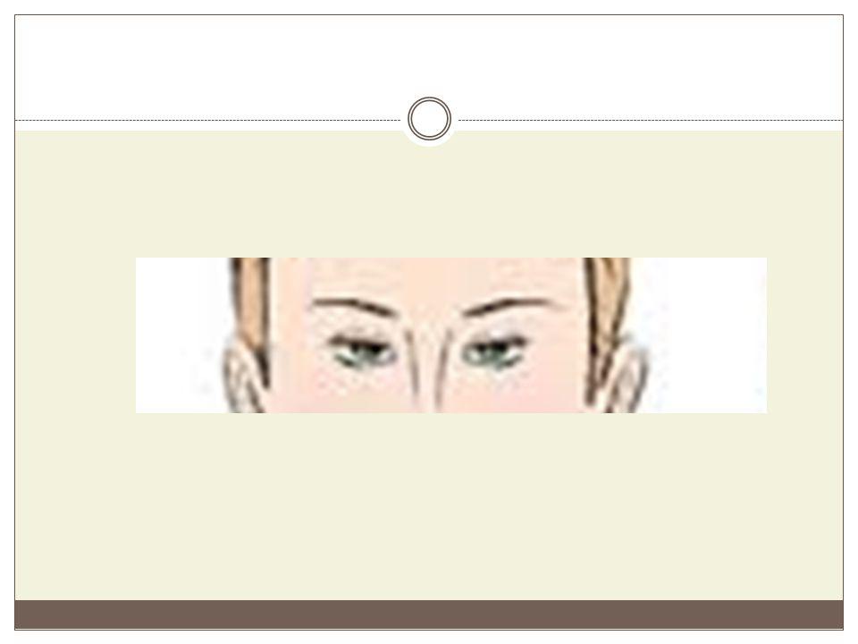 Εσώφθαλμα μάτια Είναι τα μάτια που βρίσκονται μέσα στην οφθαλμική κόγχη.