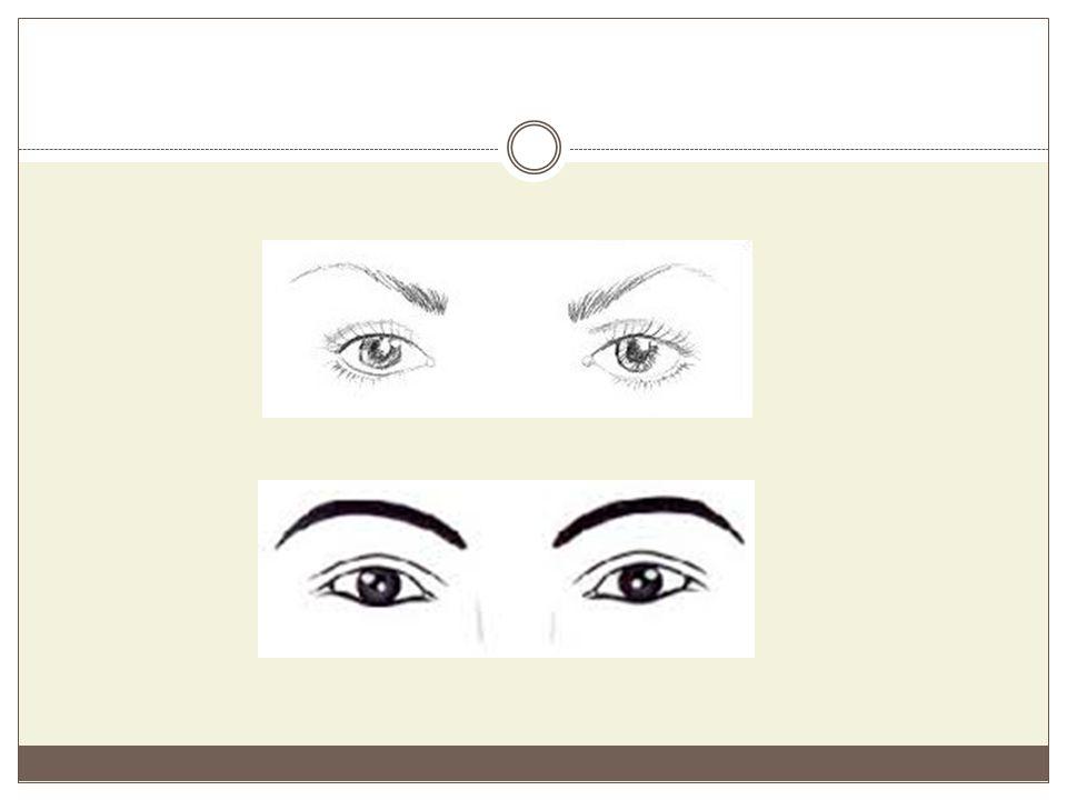 Μεγάλα μάτια Στην περίπτωση αυτή ισχύουν τα ίδια που ισχύουν και για τα μικρά μάτια, ως προς την αναγνώρισή τους.