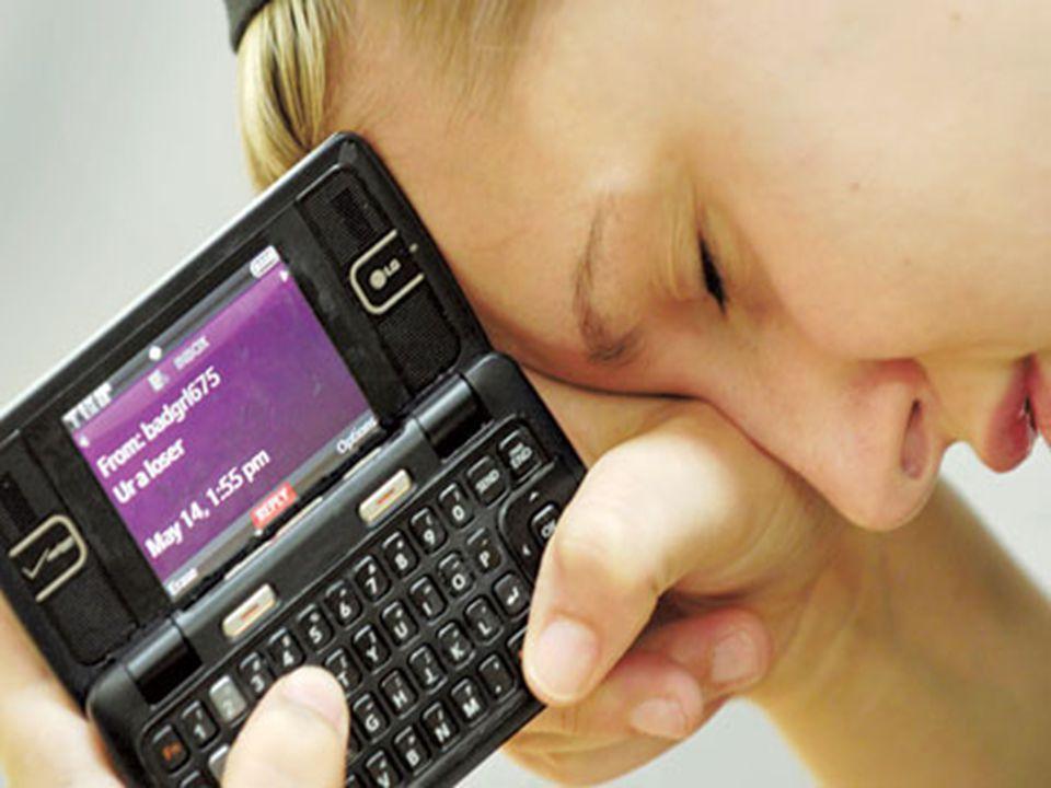 9 Μορφές Διαδικτιακού εκφοβισμού:  Αποστολή απειλητικών μηνυμάτων μέσω διαδικτύου ή κινητού τηλεφώνου.