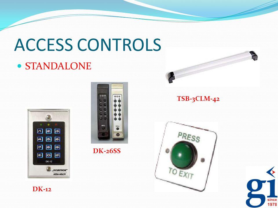 ACCESS CONTROLS STANDALONE DK-12 DK-26SS TSB-3CLM-42