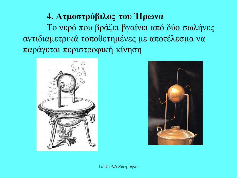 1ο ΕΠΑΛ Ζωγράφου Σύγχρονοι αυτοματισμοί Αναζητήθηκε και ερευνήθηκε ο τρόπος λειτουργίας σε: 1.Ανελκυστήρες.