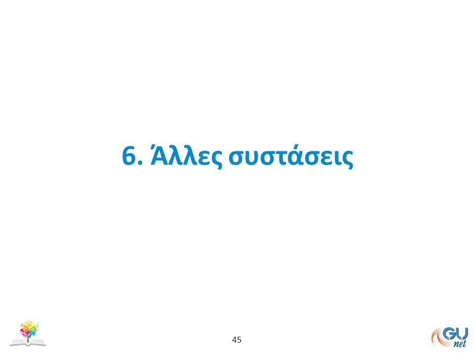 6. Άλλες συστάσεις 45