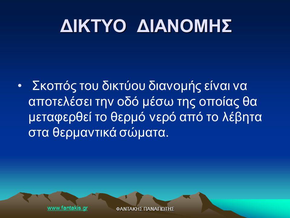 www.fantakis.gr ΦΑΝΤΑΚΗΣ ΠΑΝΑΓΙΩΤΗΣ Μαλακοί χαλκοσωλήνες.