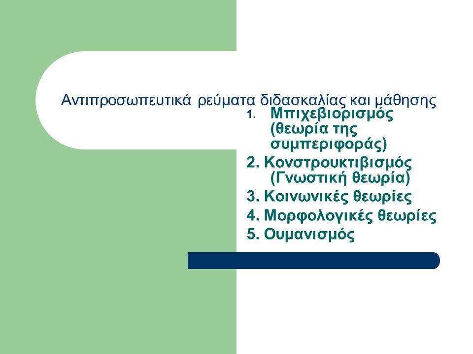 Εφαρμογή Μέσα από τη διαδικασία αυτή γίνεται: σχεδιασμός του πλάνου διδασκαλίας διεξαγωγή του σχεδίου διδασκαλίας
