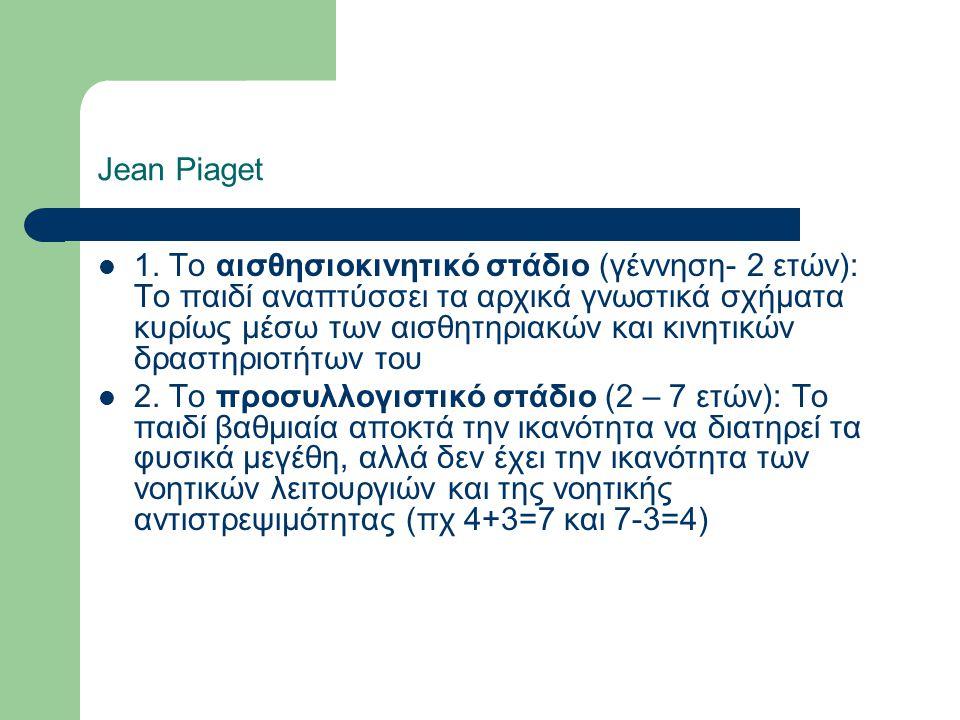 Jean Piaget 1.
