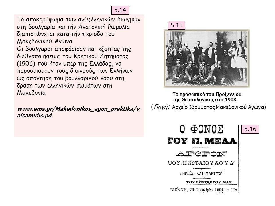 Το αποκορύφωμα των ανθελληνικών διωγμών στη Βουλγαρία και τήν Ανατολική Ρωμυλία διαπιστώνεται κατά τήν περίοδο του Μακεδονικού Αγώνα. Οι Βούλγαροι απο