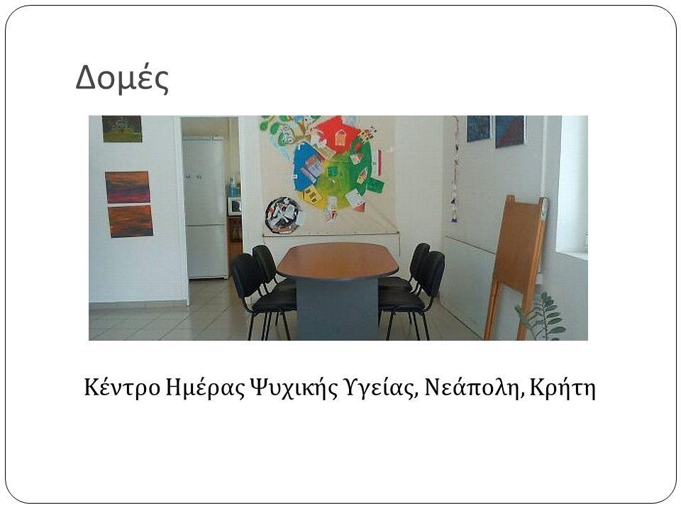 Δομές Κέντρο Ημέρας Ψυχικής Υγείας, Νεάπολη, Κρήτη