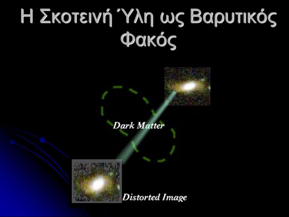 Η Σκοτεινή Ύλη ως Βαρυτικός Φακός