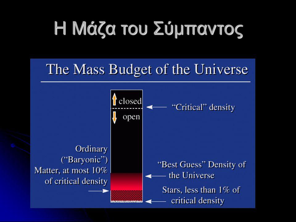 Η Μάζα του Σύμπαντος