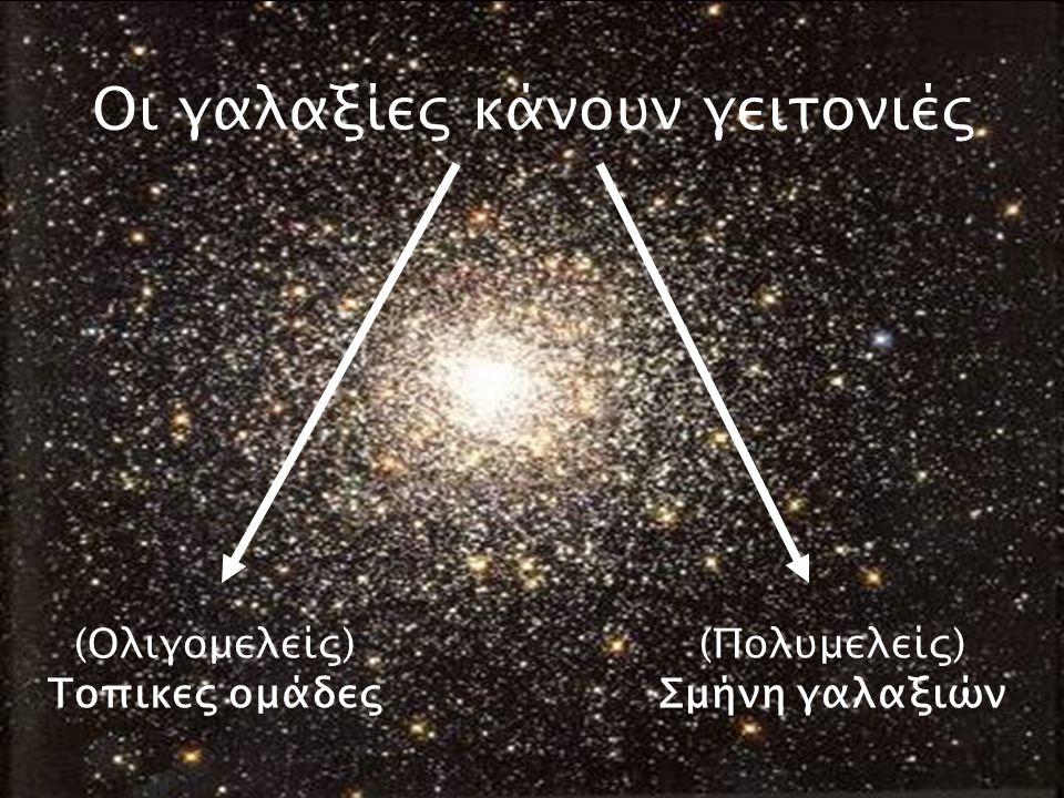 Τοπικές ομάδες γαλαξιών