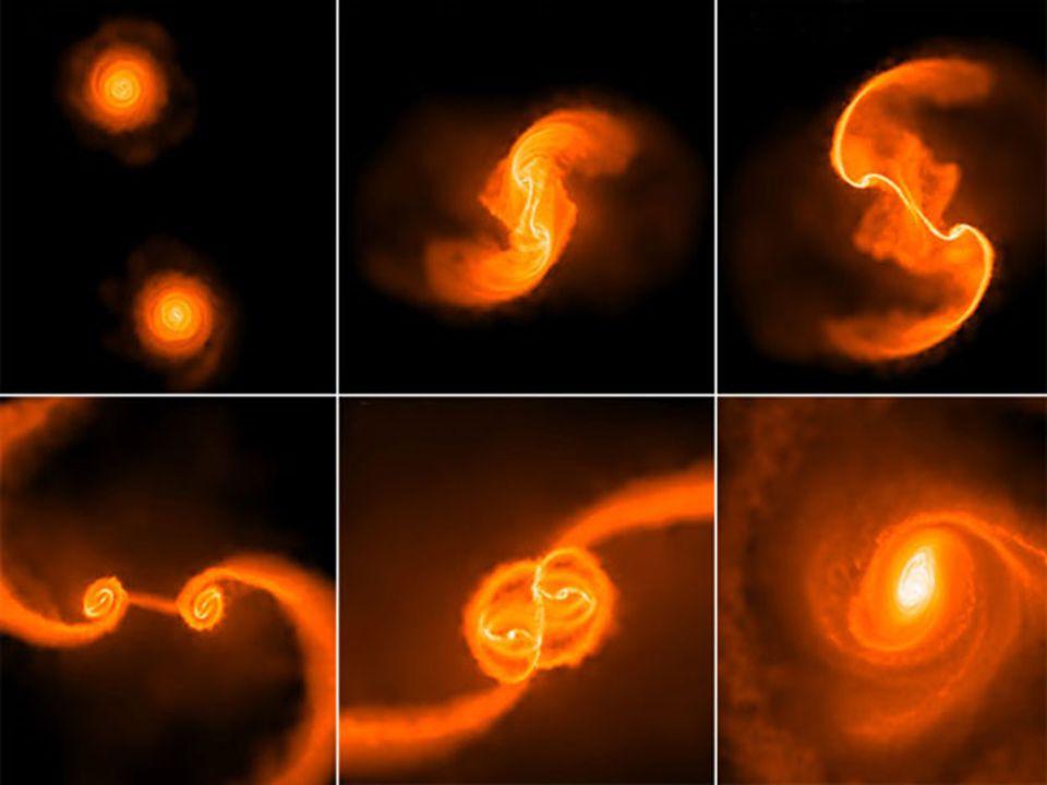 Η σύγκρουση δυο γαλαξιών σε εξέλιξη (NGC 4038- NGC 4039).