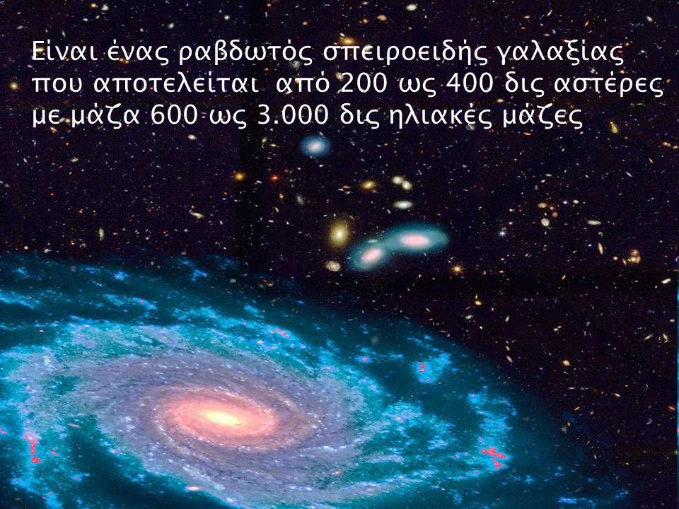 Κεντρική περιοχή 12000 εφ Γαλαξιακός πυρήνας Γαλαξιακός δίσκος 120.000 εφ Άλως 300.000 εφ