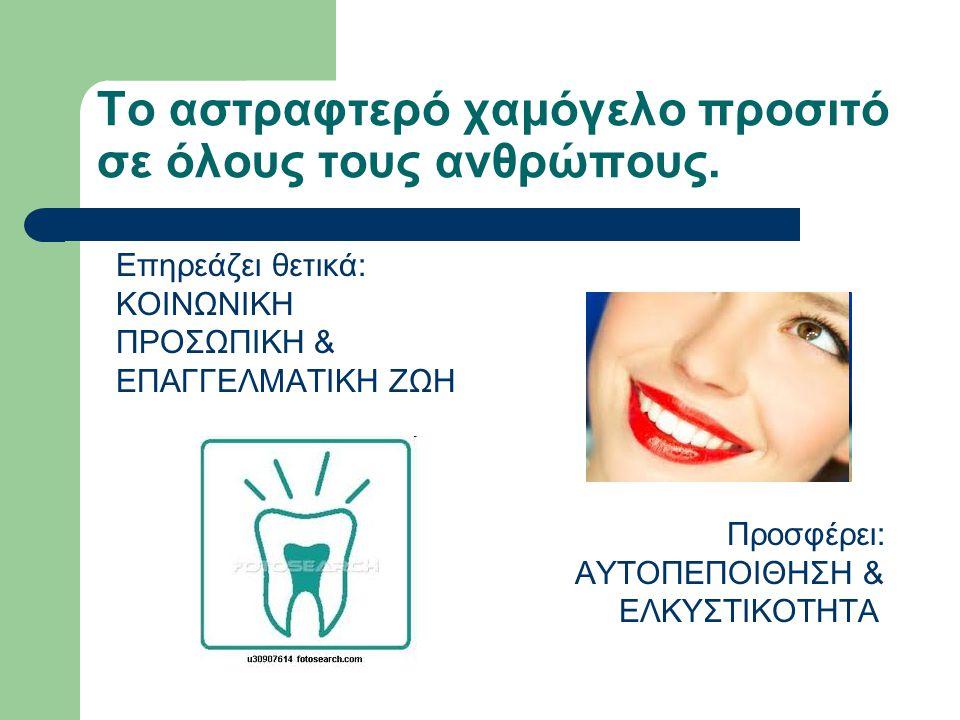 Ορισμός Η αισθητική οδοντιατρική είναι ο κλάδος της οδοντιατρικής επιστήμης που ασχολείται με την αντιμετώπιση αισθητικών προβλημάτων των δοντιών και ούλων και την αποκατάσταση της αρμονίας και της ομορφιάς του χαμόγελου.