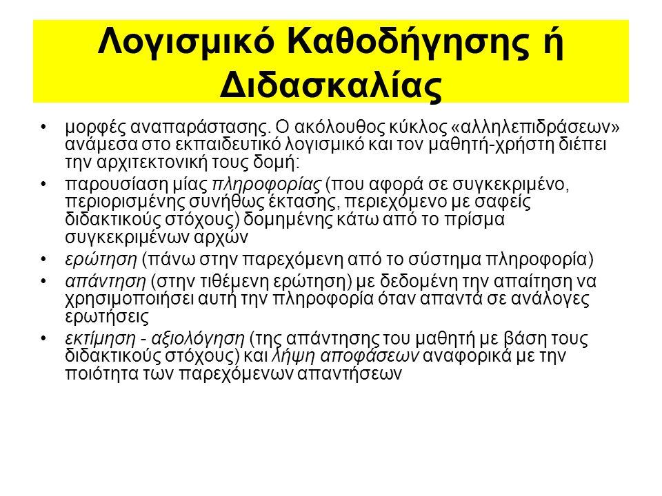 Προγραμματιστικά Περιβάλλοντα α) τύπου Logo Η παιδαγωγική θεωρία της Logo αναπτύχθηκε πάνω στις απόψεις του Piaget.