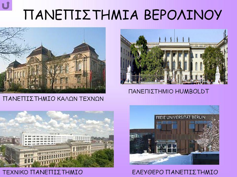 ΙΔΡΥΣΗ ΤΗΣ ΠΟΛΗΣ Το Βερολίνο δημιουργήθηκε σταδιακά.