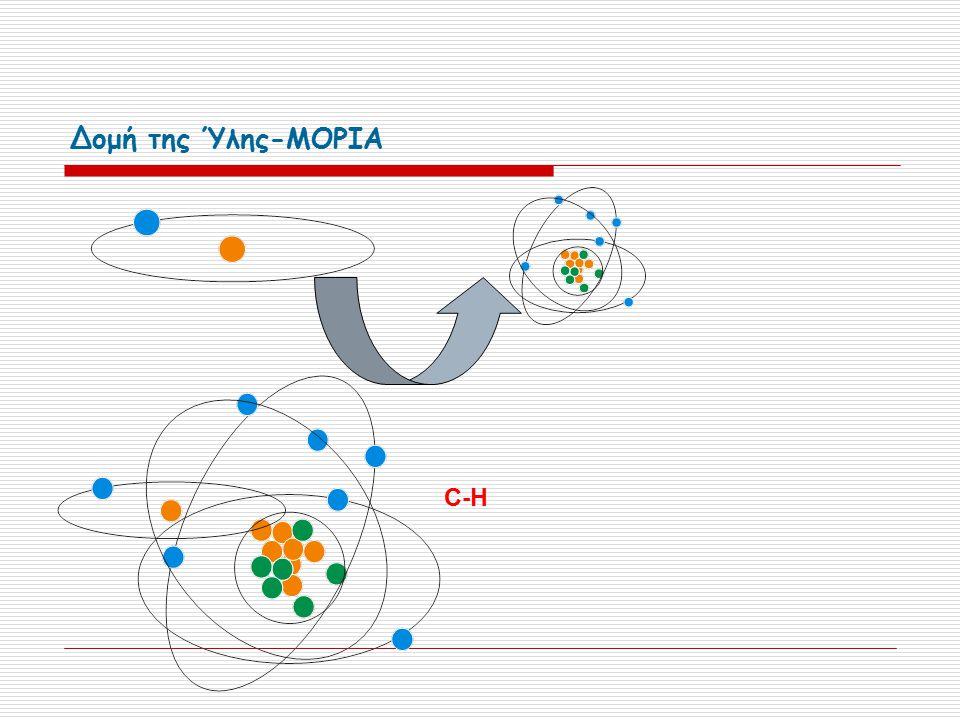 Δομή της Ύλης-ΜΟΡΙΑ C-H