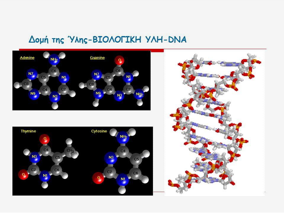 Δομή της Ύλης-ΒΙΟΛΟΓΙΚΗ ΥΛΗ-DNA