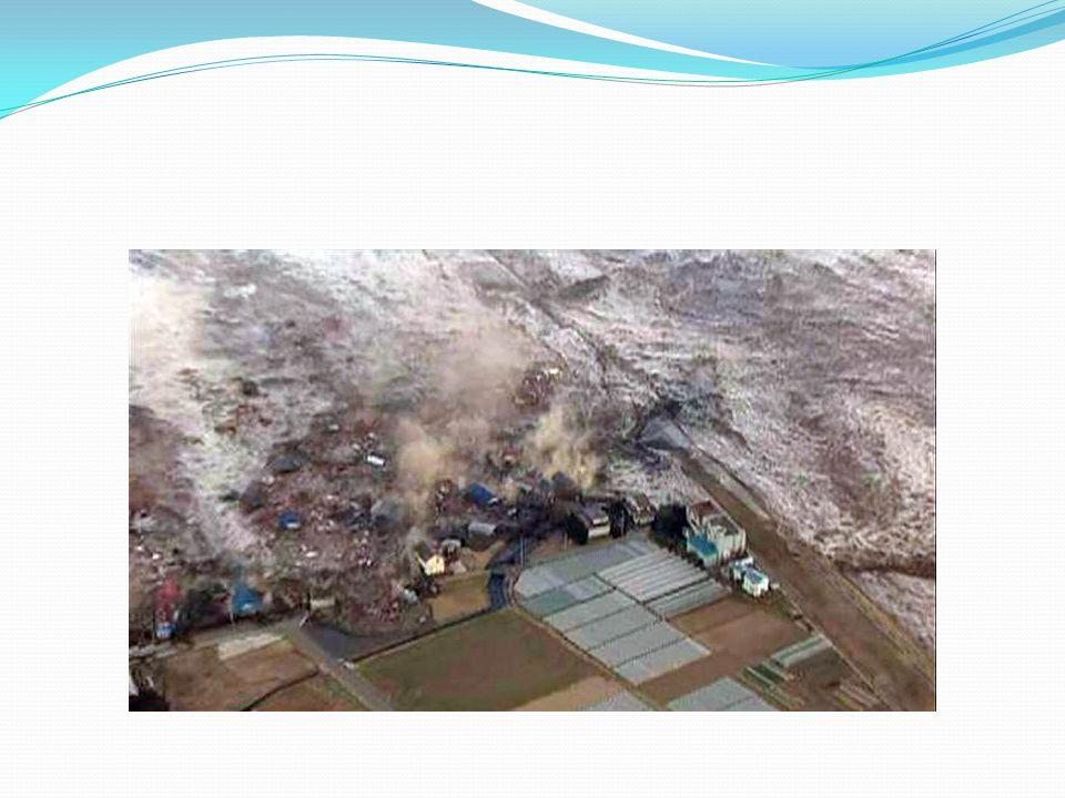 Ο σεισμός προκάλεσε τσουνάμι σε πολλές περιοχές της χώρας.