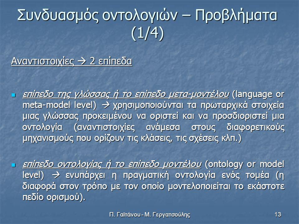 Π.Γαϊτάνου - Μ.