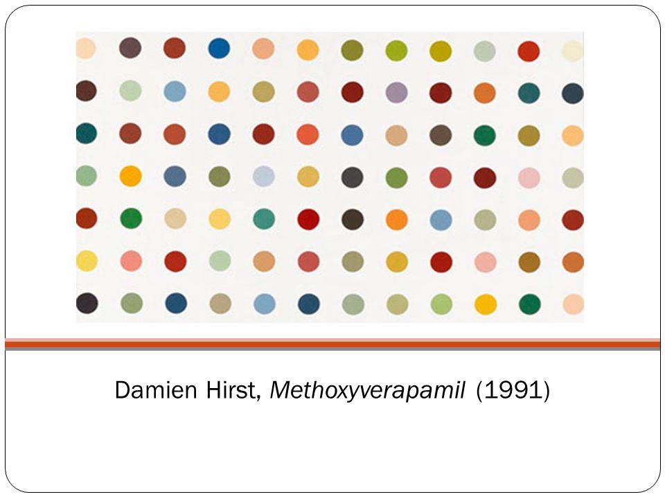 Damien Hirst, Methoxyverapamil (1991)