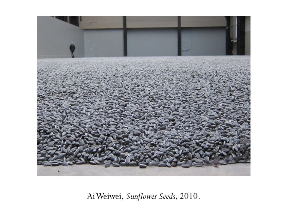 Ai Weiwei, Sunflower Seeds, 2010.