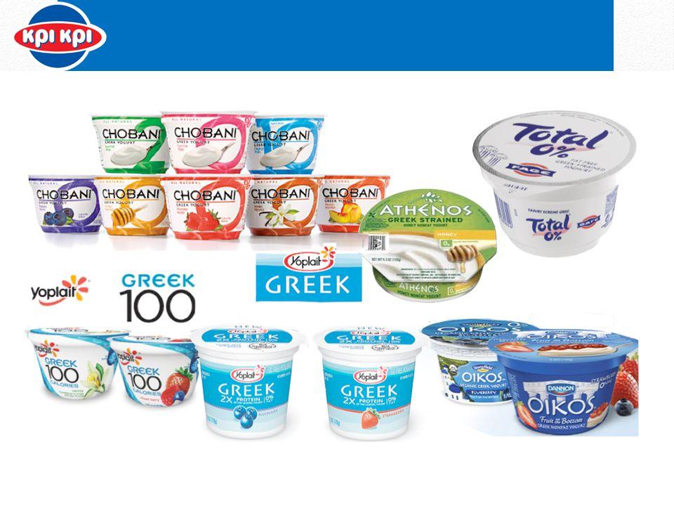 Χρήση ελληνικών ονομασιών : greek yogurt, chobani, oikos, voskos, athenos Χρήση ελληνικού στοιχείου και star με Ελληνική καταγωγή στην επικοινωνία