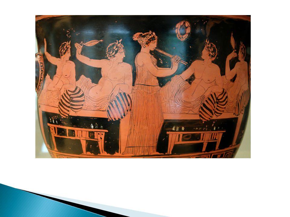  Οι αρχαίοι Έλληνες δεν χρησιμοποιούσαν πιρούνια γι αυτό έκοβαν το κρέας σε μικρά κομμάτια και το έπιαναν με το χέρι.