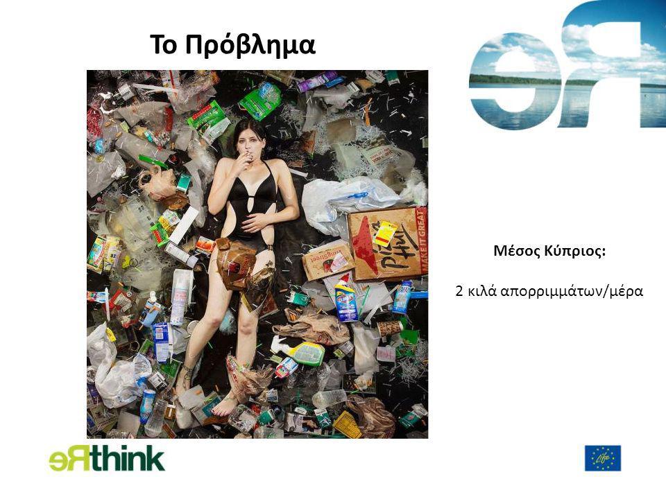 To Πρόβλημα Μέσος Κύπριος: 2 κιλά απορριμμάτων/μέρα