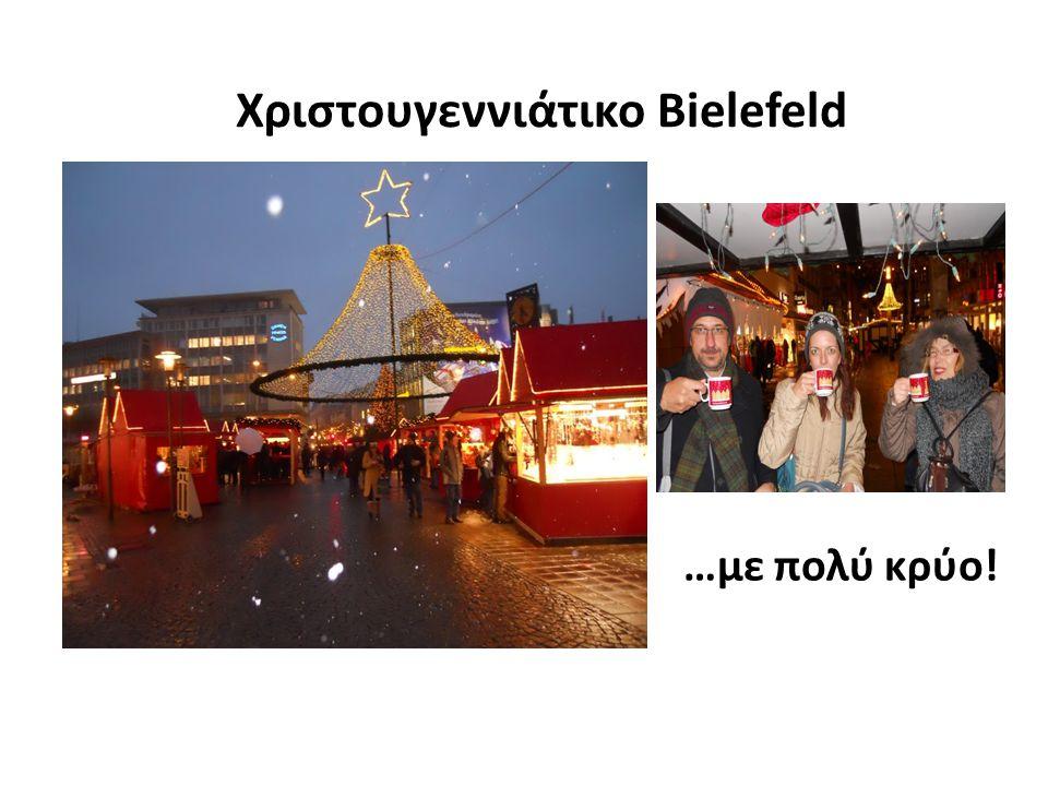 Χριστουγεννιάτικο Bielefeld …με πολύ κρύο!