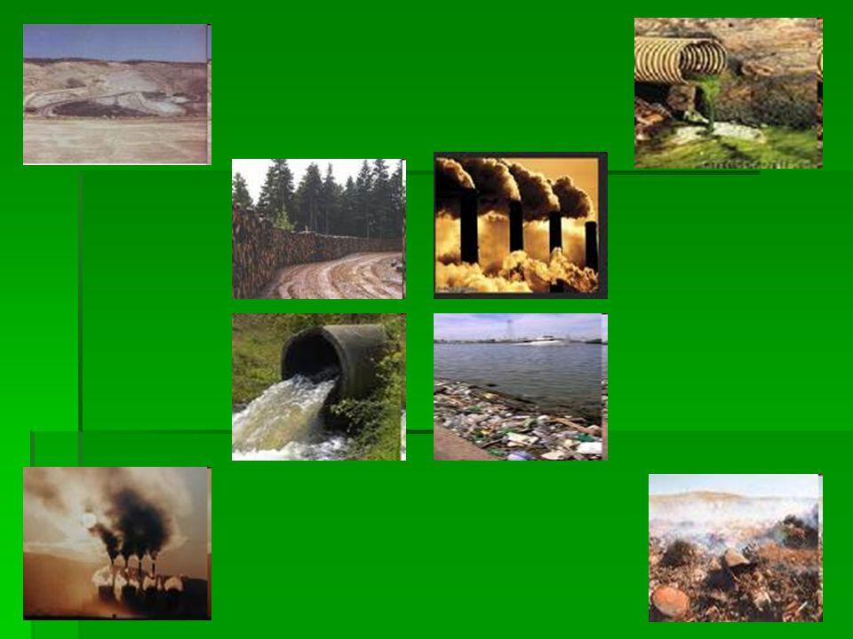  Αυτό το μαρτυρούν η εξάντληση των ενεργειακών αποθεμάτων της γης, η ρύπανση των θαλασσών, λιμνών και ποταμών από βιομηχανικά απόβλητα, η μόλυνση της
