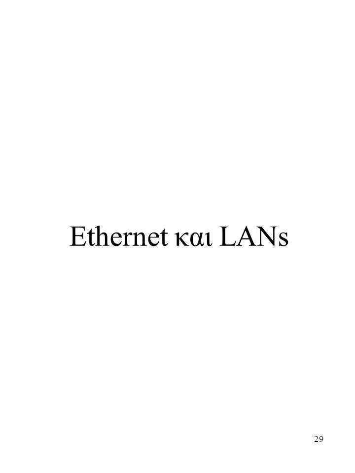 29 Ethernet και LANs