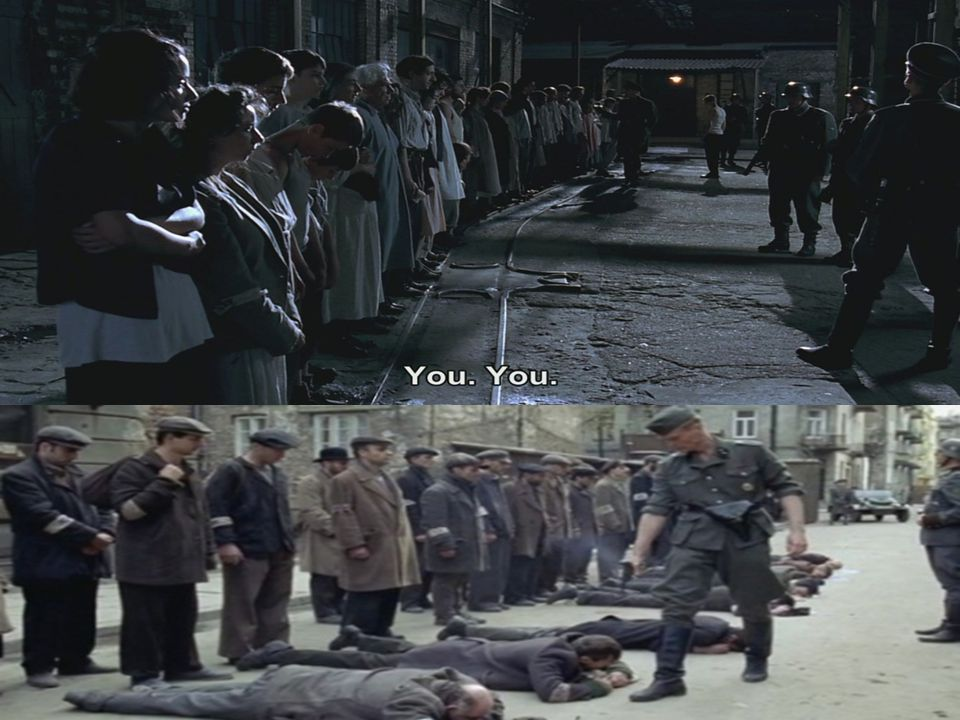 Μόνος πλέον, αφού η οικογένειά του οδηγήθηκε στις εγκαταστάσεις εξολόθρευσης παραμένει στο Γκέτο ως εργάτης- σκλάβος των Γερμανών.