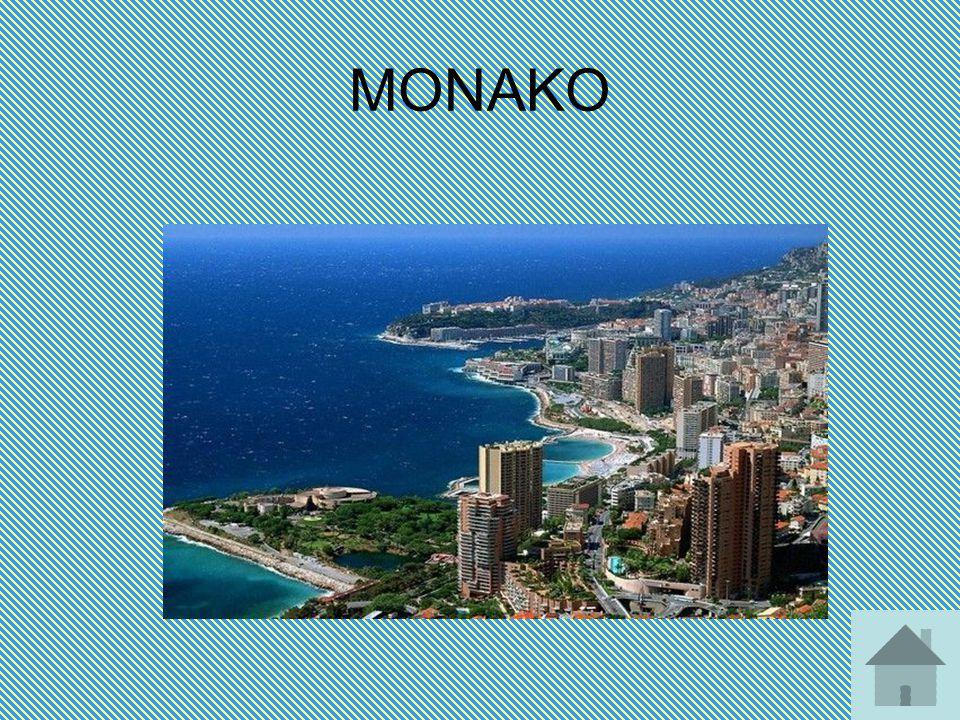 ΜΟΝΑΚΟ Το Μονακό είναι μικρό πριγκιπάτο της Κυανής Ακτής. Περιβάλλεται στις τρεις πλευρές του από τη Γαλλία και στην τέταρτη από τη Μεσόγειο. Αποτελεί