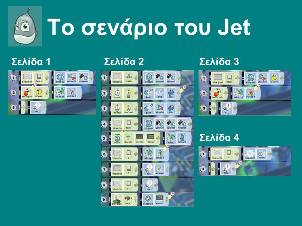 Το σενάριο του Jet Σελίδα 1Σελίδα 2Σελίδα 3 Σελίδα 4